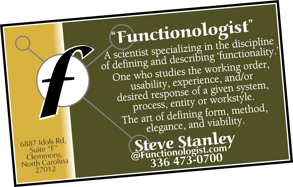 Welcome to the authoritative resource of the Functionologist!
