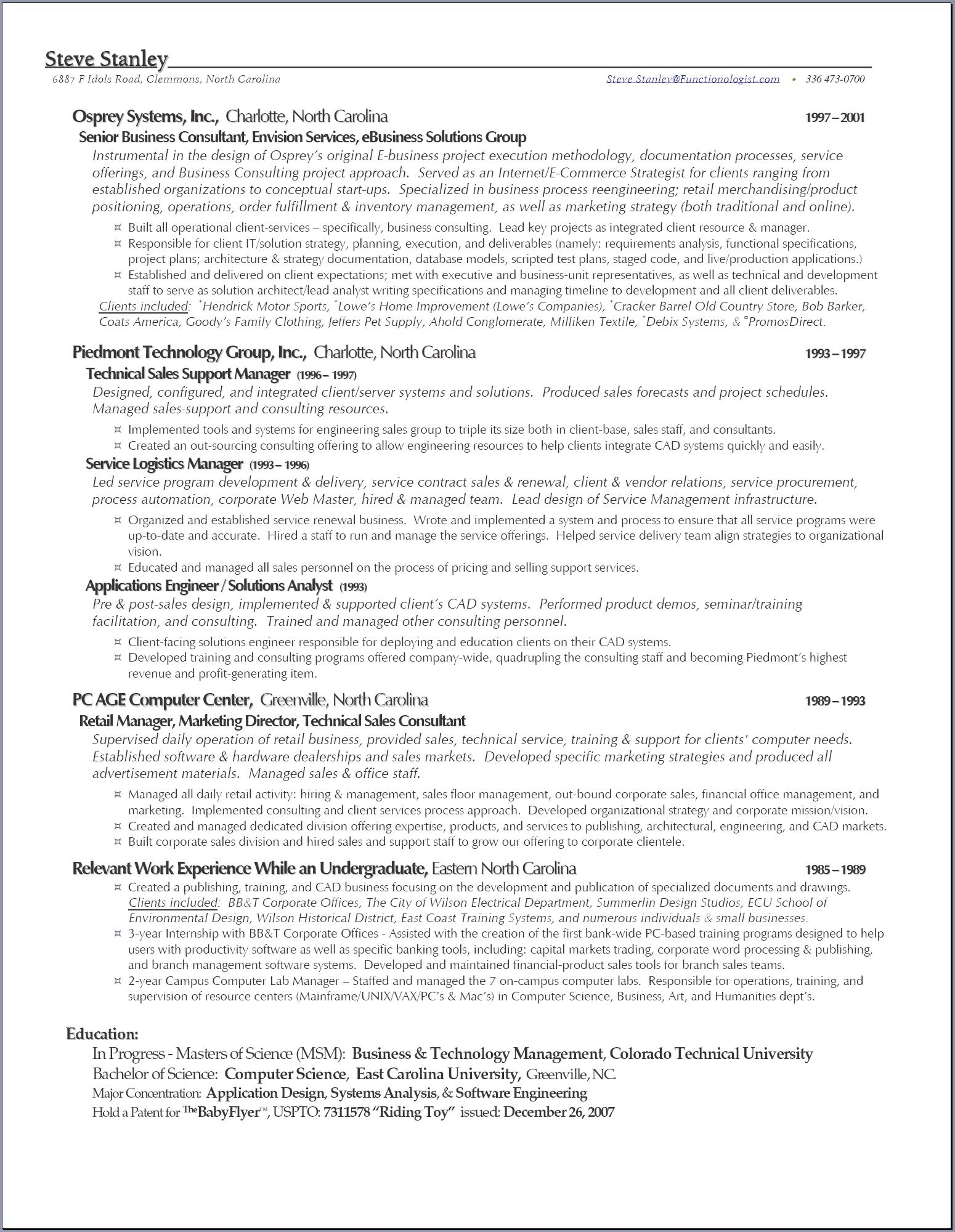 resume 1 Or 2 Page Resume 2 page resumes free resume example and writing com s the functionologist steve 2